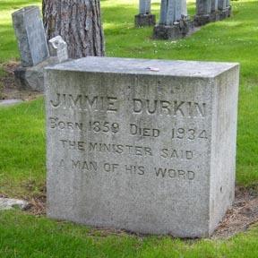 Durkin Headstone