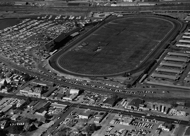 Playfair Racetrack, 1967 (image L87-1.1803A-67 courtesy of the Northwest Museum of Arts and Culture).