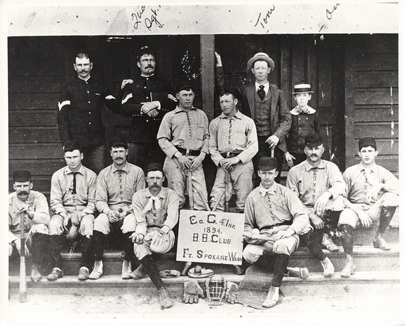 Charlie Company, 4th Infantry Regiment, Fort Spokane Baseball Team
