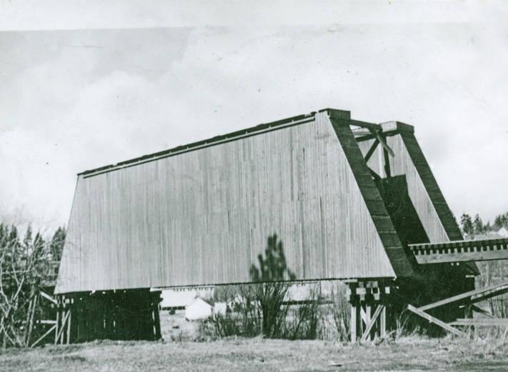 Railroad Bridge over Palouse River,1910