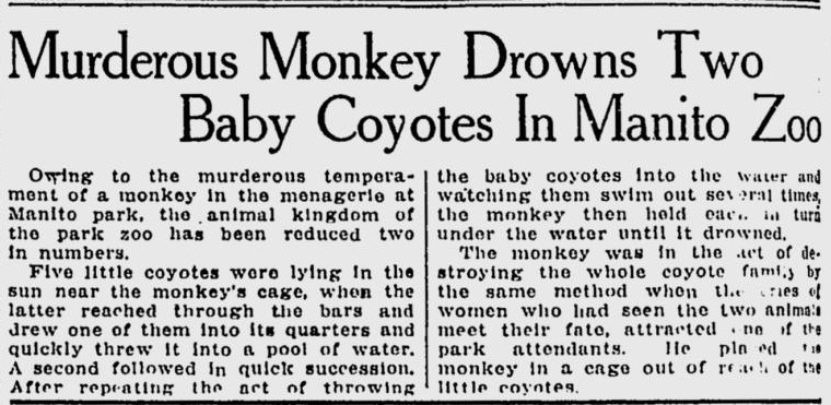 Mixing native and non-native species could have disastrous results (Courtesy Google News Archives).