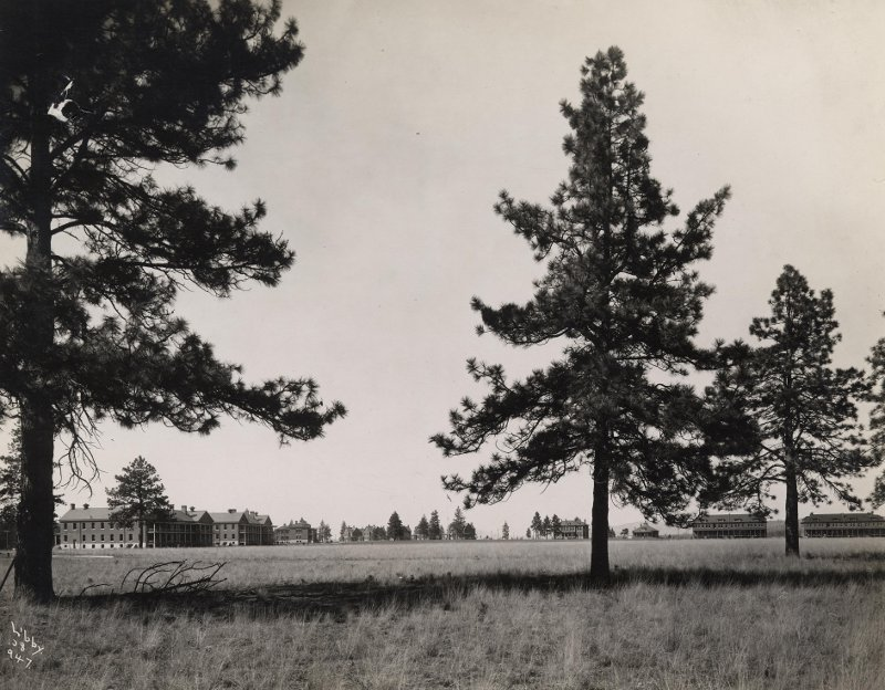 Parade Grounds of Fort George Wright