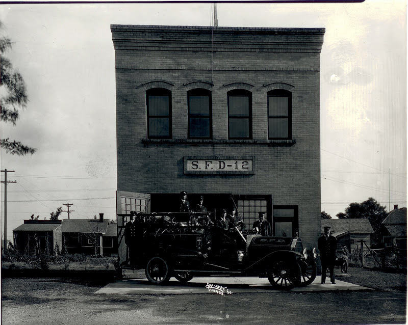 Spokane Fire Station No. 12. Personnel and Apparatus