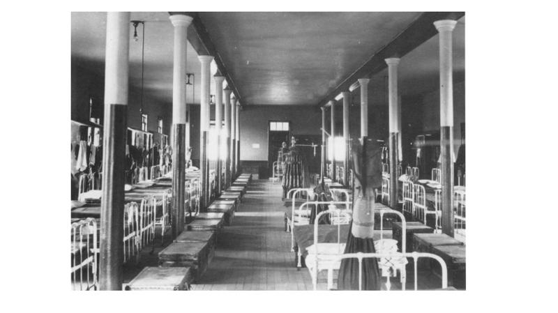Inside the Barracks