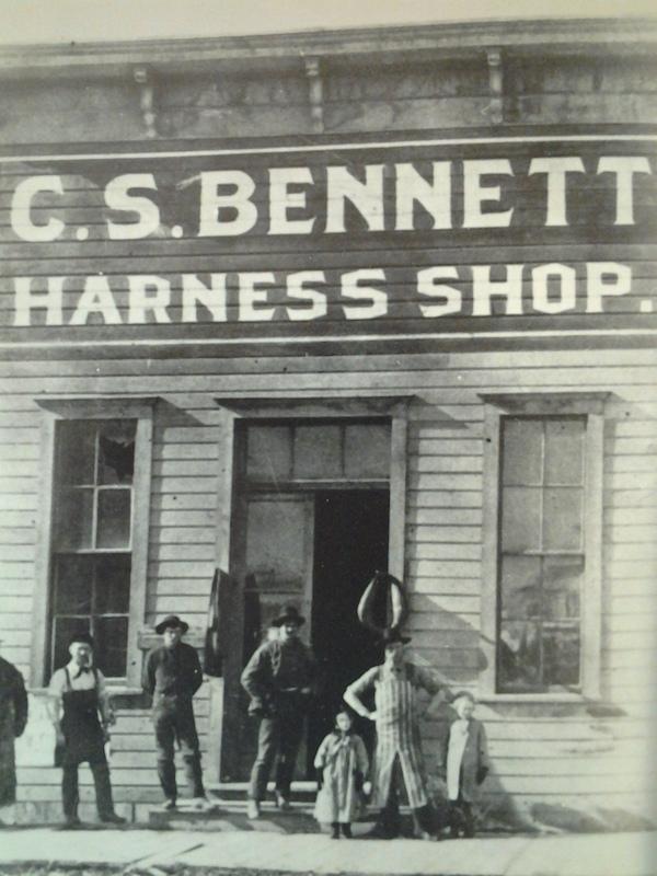 Bennett's Harness Shop,1895