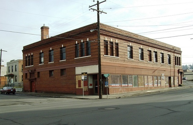 The Grotto Building, just around the corner on Pacific, was home to many favorite hangouts for the Spokane punk scene.