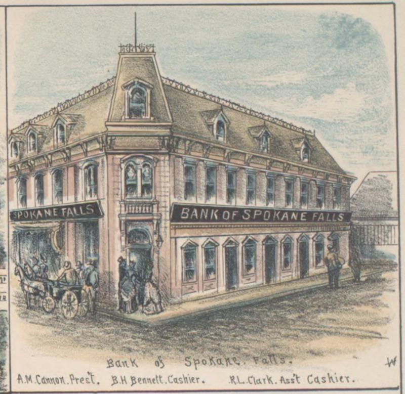 Bank of Spokane Falls, 1887
