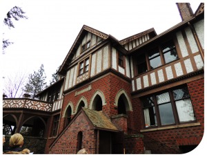 """Underhill"" - F. Lewis Clark's home on the South Hill designed by Kirtland Cutter"