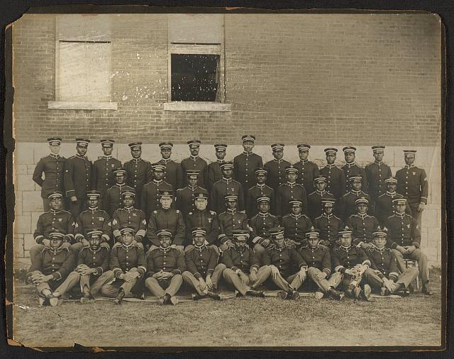 24th Infantry officers