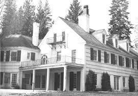 """Honeysuckle"" - F. Lewis Clark's home on Hayden Lake built by Kirtland Cutter."