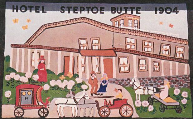 Cashup Davis' Hotel Postcard, 1904