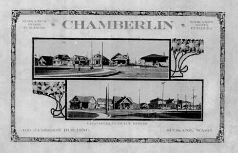The Chamberlin Company supplied house plans and loans and mortgages for prospective home buyers in Nettleton's Addition.