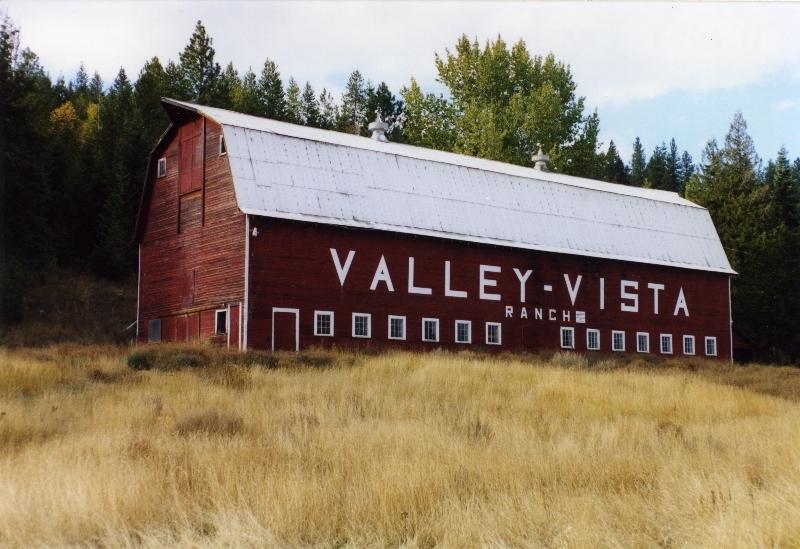The Valley Vista Ranch Barn in 2014