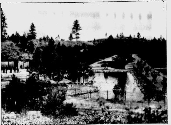 Manito Park Zoo, 1909 (Courtesy Google News Archives)