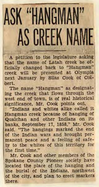 Spokesman-Review Article, 1934