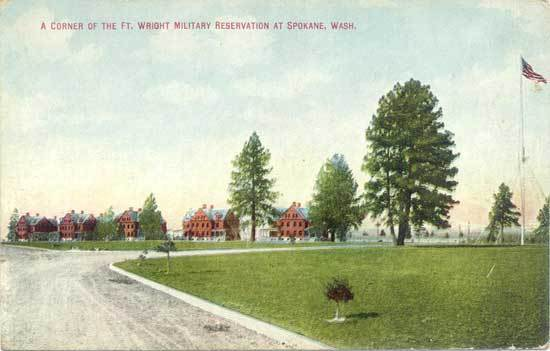 Military Reservation Postcard