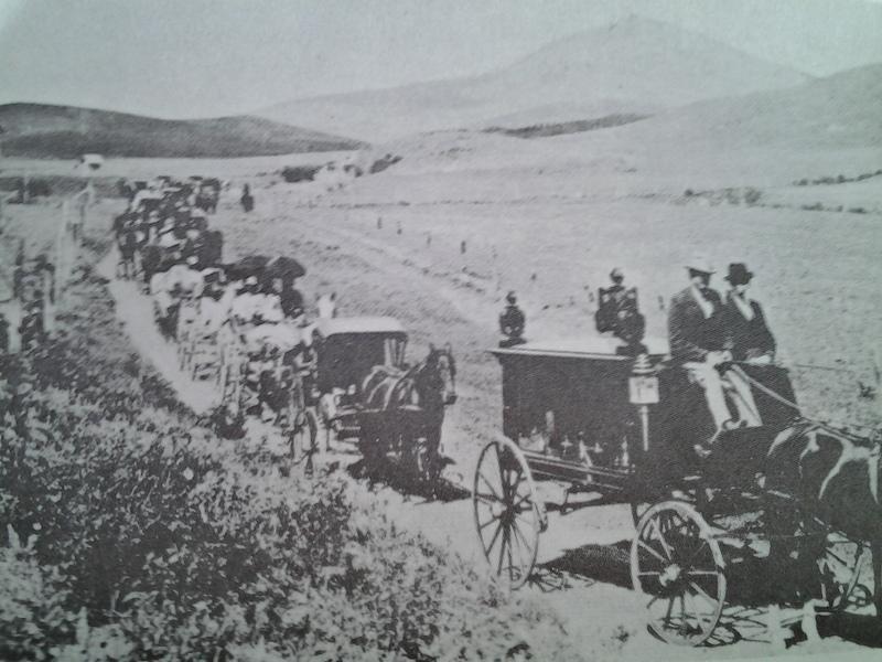 "James ""Cashup"" Davis Funeral, 1896."