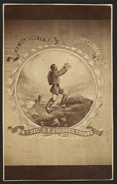 Recruiting Poster for the 24th Infantry