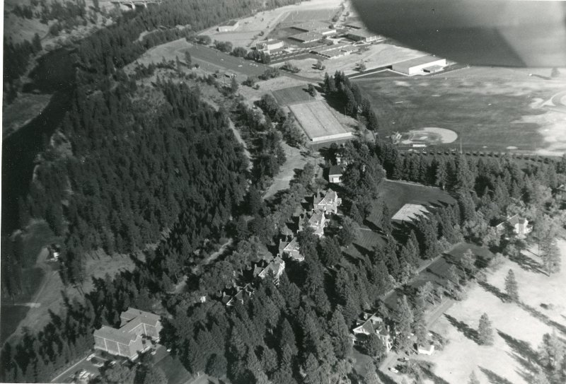 Another view of the fort from above