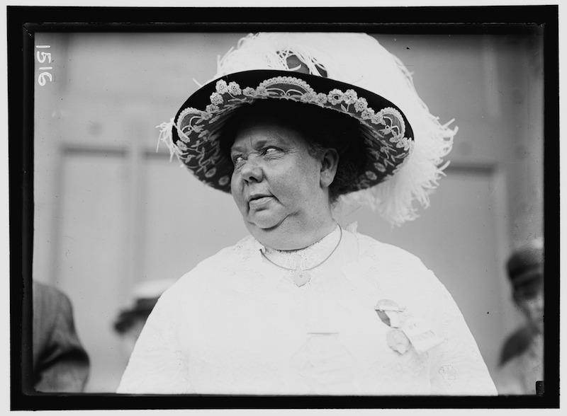 May Hutton at the 1912 Democratic Convention