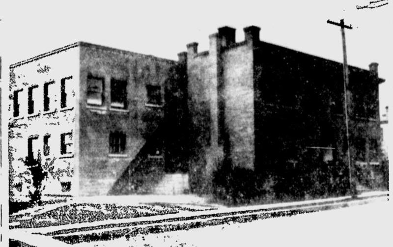 The Florence Crittenton House on North Cedar