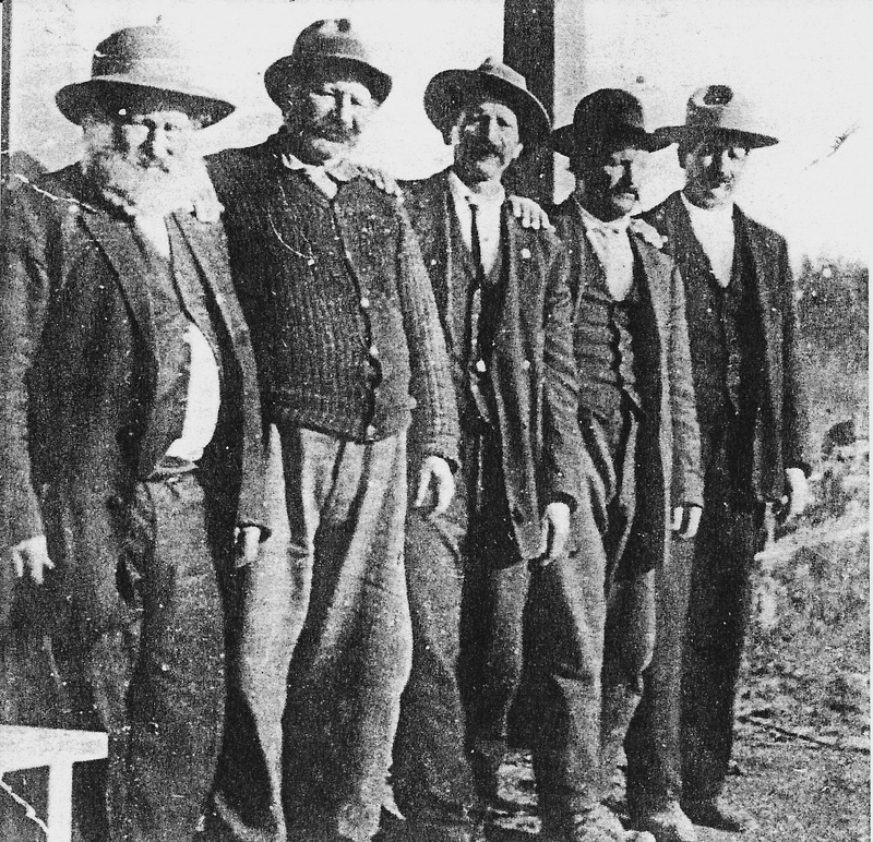 The Naccarato brothers were among the first Italians to settle in the Priest River area.