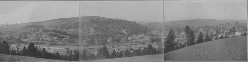 Panoramic view of Elberton, 1914