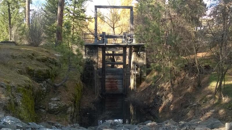 Corbin Ditch Head Gate