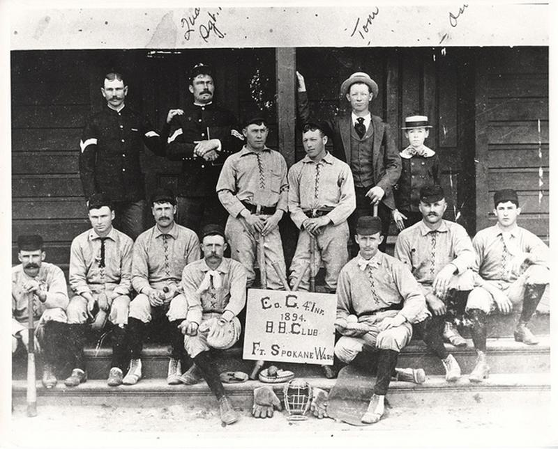 Charlie Company, 4th Infantry Regiment, Fort Spokane Baseball Team